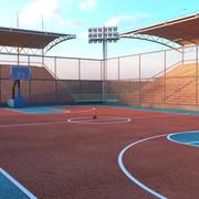 BasketBall Court Arena 3d model
