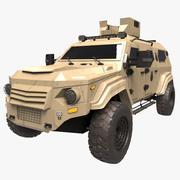 Terradyne Gurkha lapv 3d model
