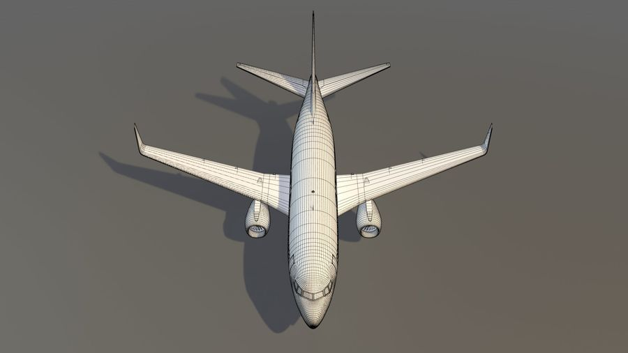 Southwest Airplane Aircraft royalty-free 3d model - Preview no. 21