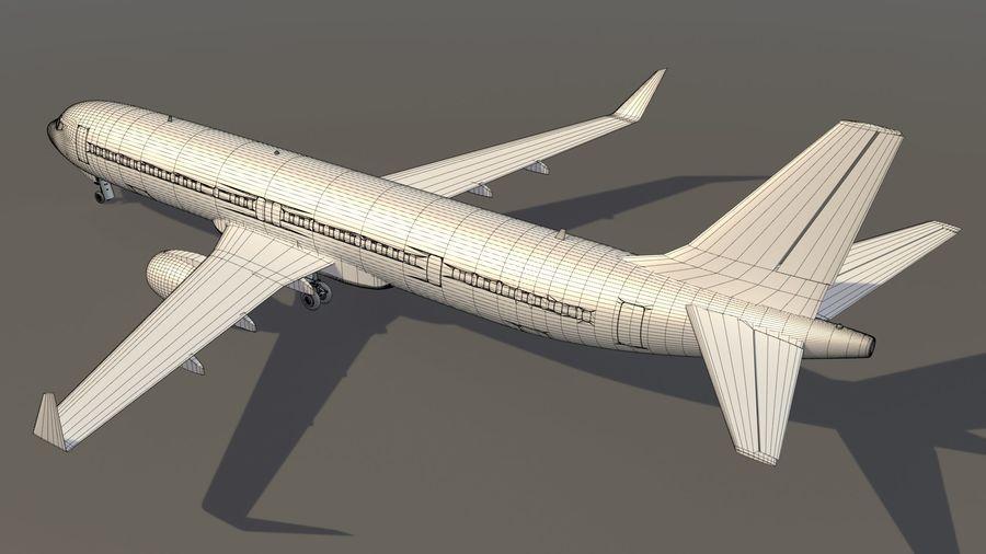 델타 항공 비행기 항공기 royalty-free 3d model - Preview no. 15