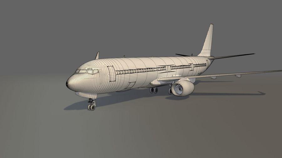 델타 항공 비행기 항공기 royalty-free 3d model - Preview no. 12