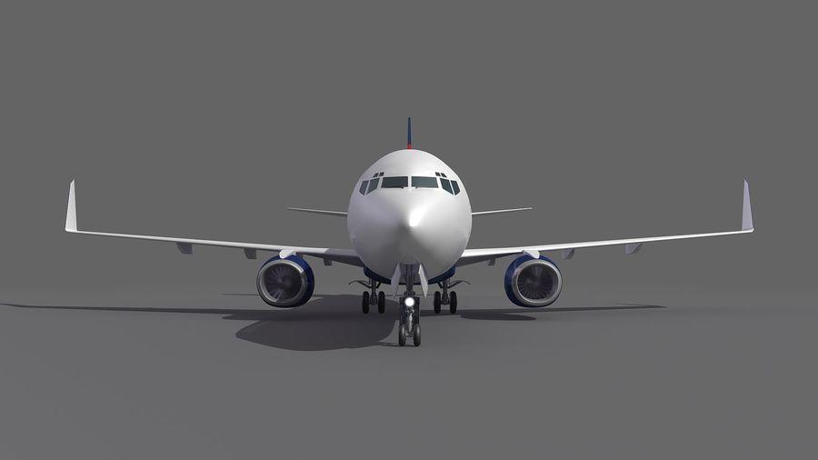 델타 항공 비행기 항공기 royalty-free 3d model - Preview no. 9