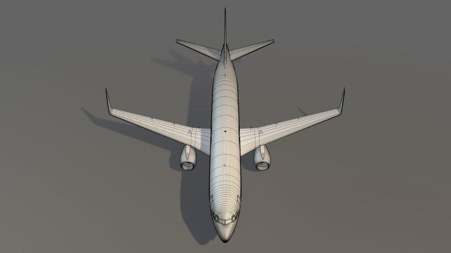 델타 항공 비행기 항공기 royalty-free 3d model - Preview no. 21