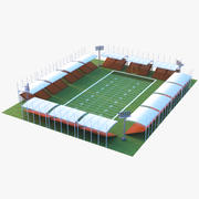 Stadio di calcio 3d model