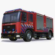Niederländischer Feuerwehrauto 3d model