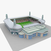 Al Sadd Stadium Qatar 3d model
