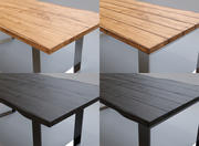 Wood Table Collection 3d model