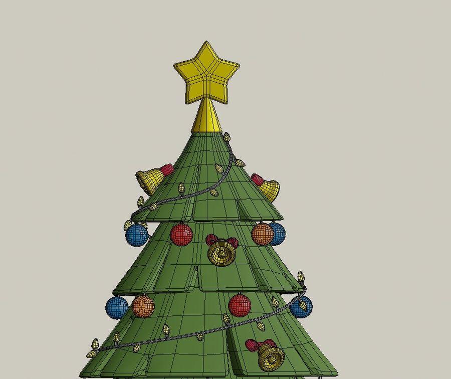 cartoon christmas tree 3d model 5 obj blend fbx free3d cartoon christmas tree 3d model 5