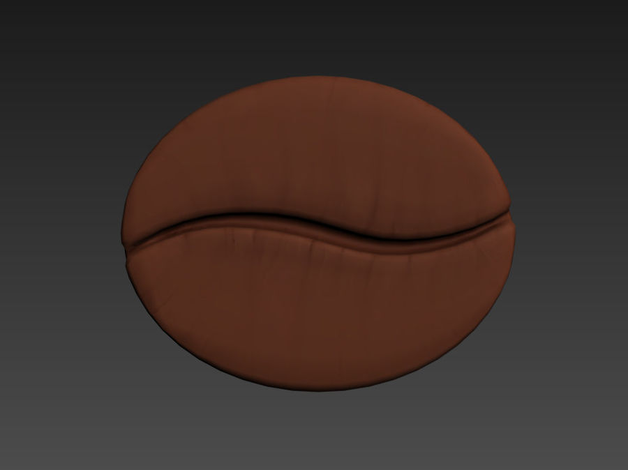 Koffieboon royalty-free 3d model - Preview no. 17