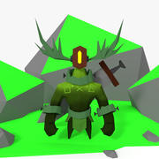 Forest keeper(1) 3d model