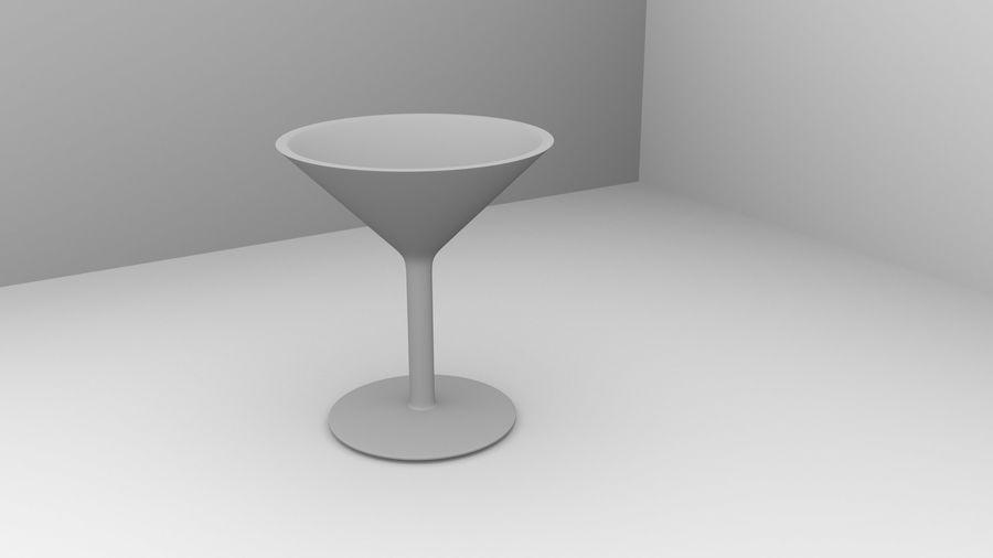 Copa de vino 5 royalty-free modelo 3d - Preview no. 4