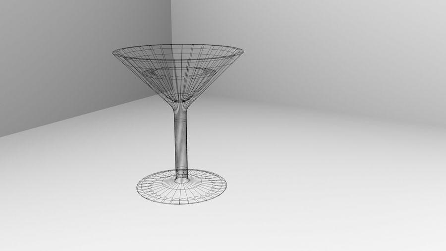 Copa de vino 5 con líquido royalty-free modelo 3d - Preview no. 5