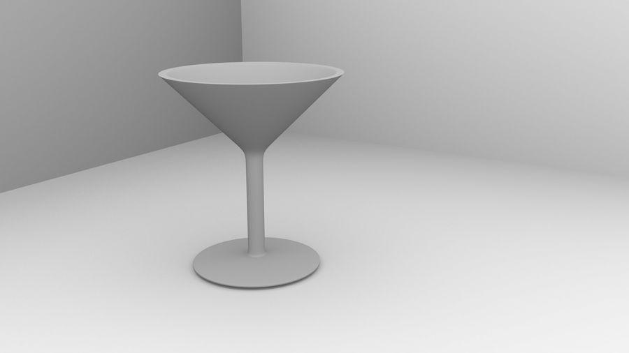 Copa de vino 5 con líquido royalty-free modelo 3d - Preview no. 4