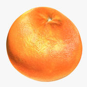 Grapefruit 3d model