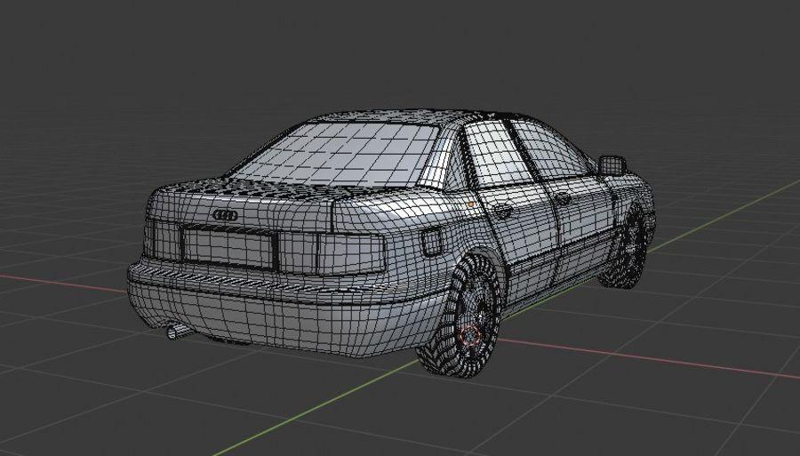 Audi Car royalty-free 3d model - Preview no. 6
