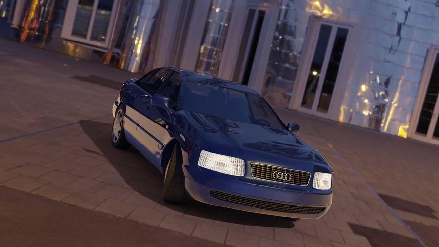 Audi Car royalty-free 3d model - Preview no. 2