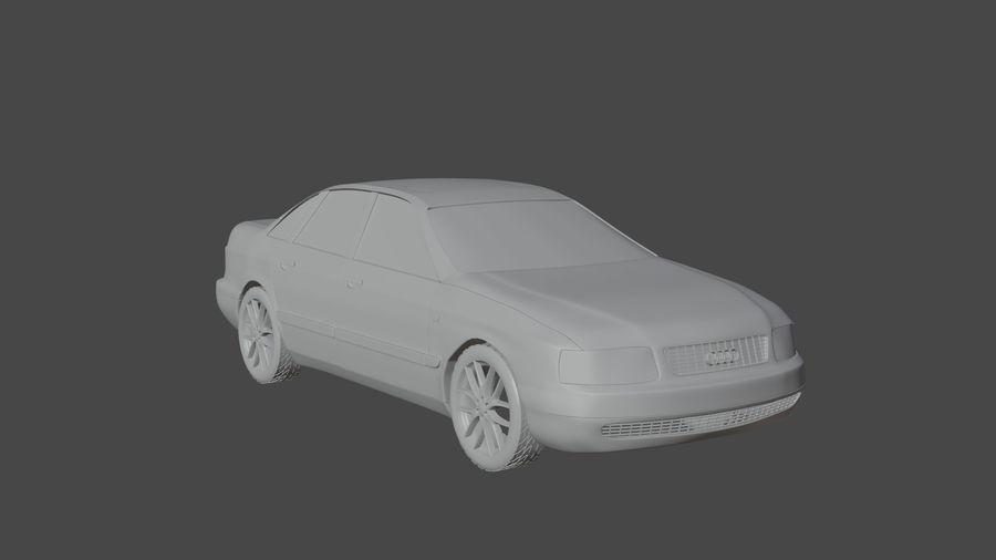 Audi Car royalty-free 3d model - Preview no. 4
