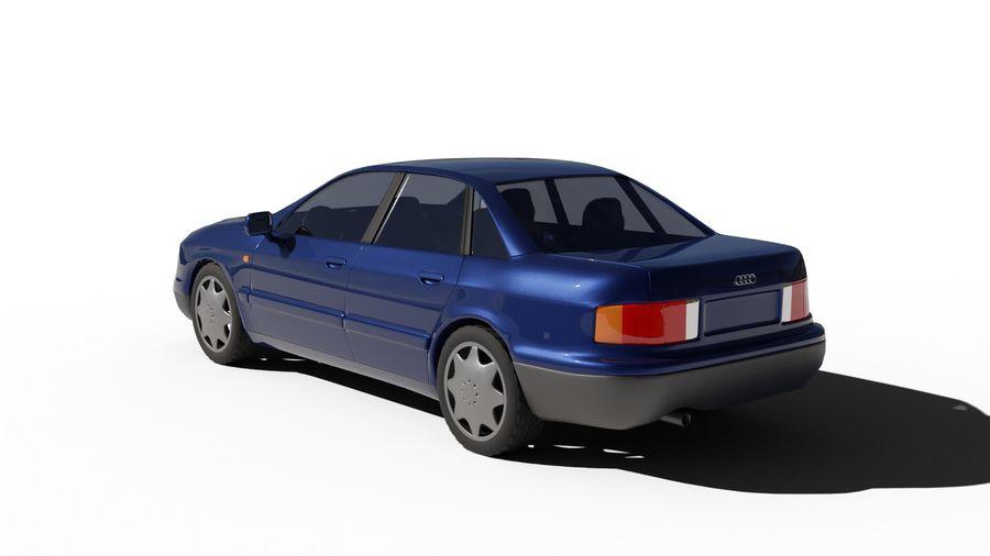 Audi Car royalty-free 3d model - Preview no. 3