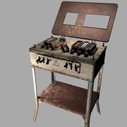 Old Electro Shock Device 3d model
