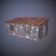Old Brick House 3d model