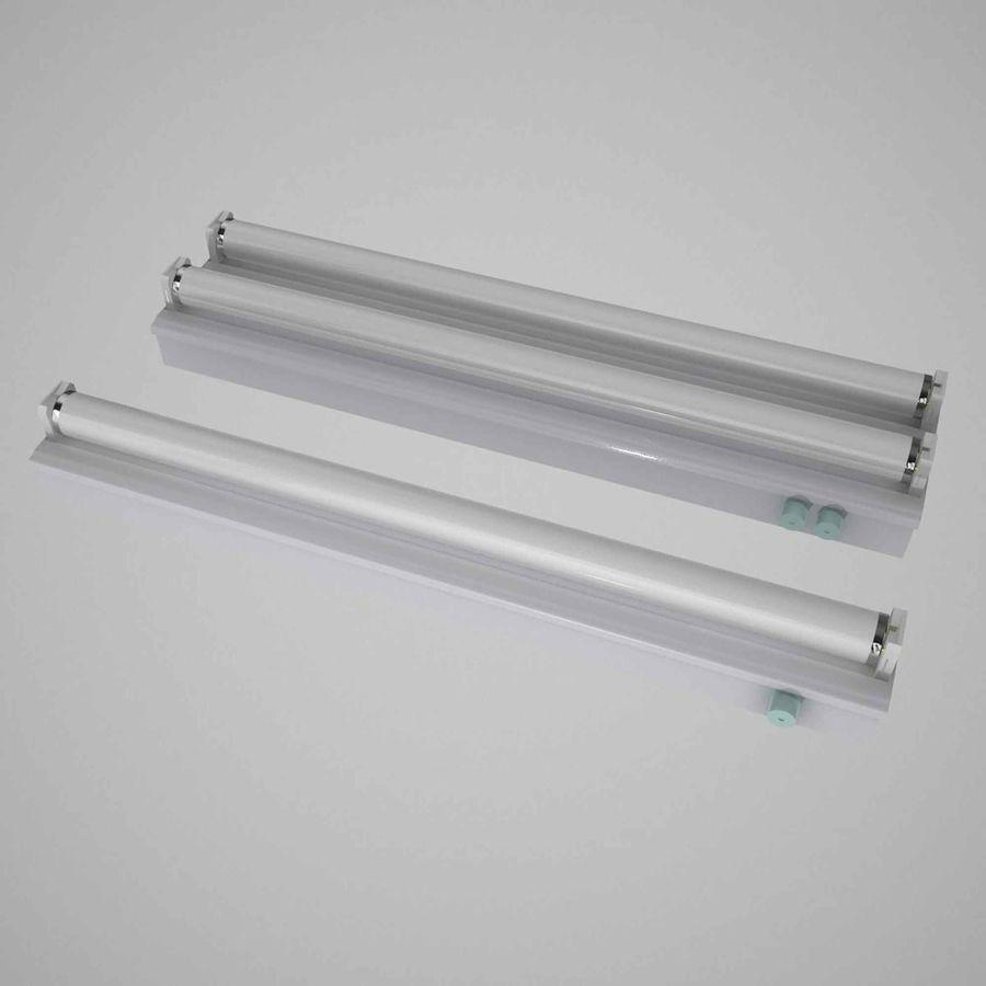 fluoreszierende Lichter royalty-free 3d model - Preview no. 1