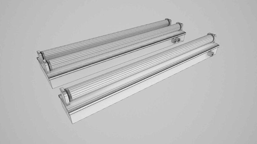 fluoreszierende Lichter royalty-free 3d model - Preview no. 3