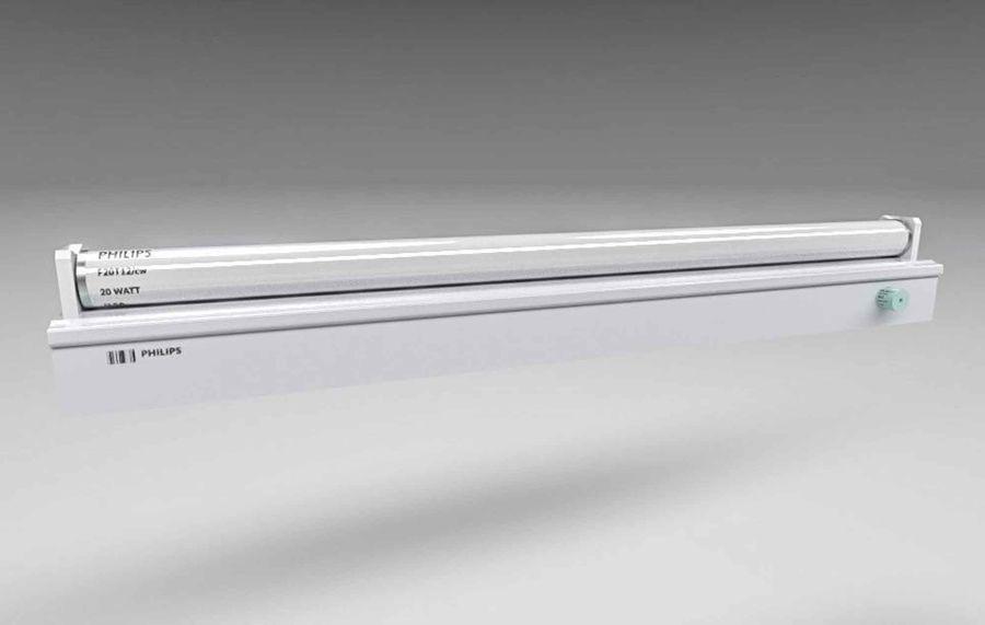 fluoreszierende Lichter royalty-free 3d model - Preview no. 10