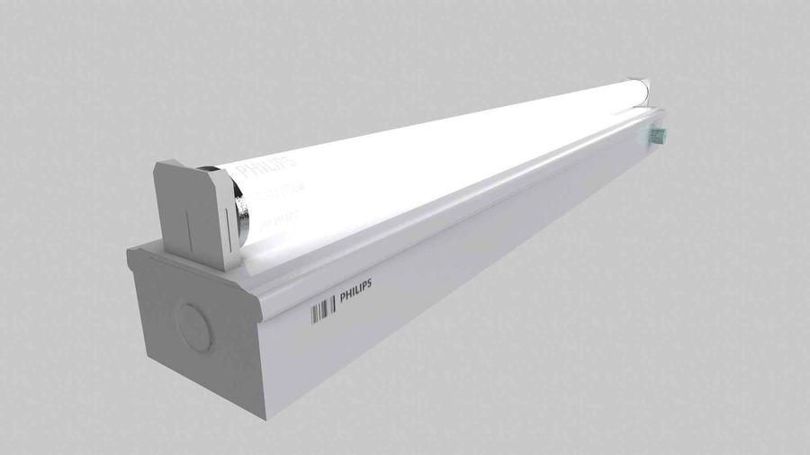 fluoreszierende Lichter royalty-free 3d model - Preview no. 7