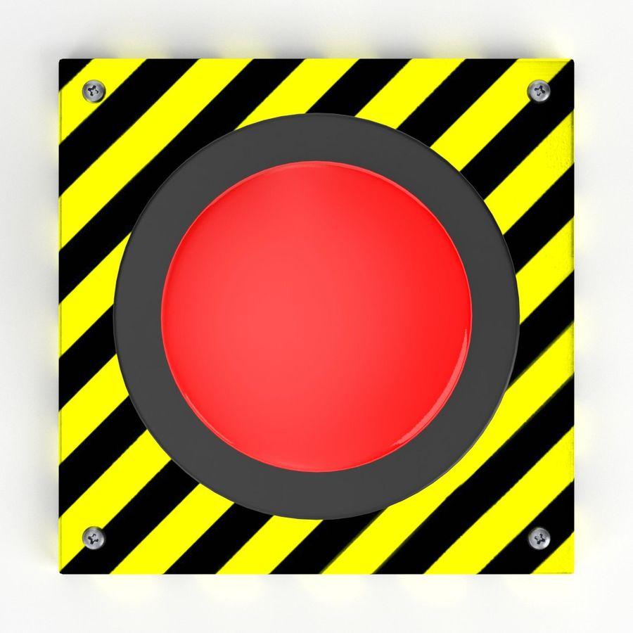 Big red button 3D Model $9 - .fbx ...