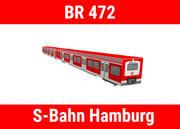 LHB Baureihe 472-S Bahn汉堡 3d model