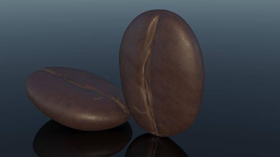 Кофейное зерно royalty-free 3d model - Preview no. 3