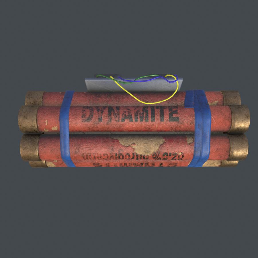 Dynamite Game ready royalty-free 3d model - Preview no. 15