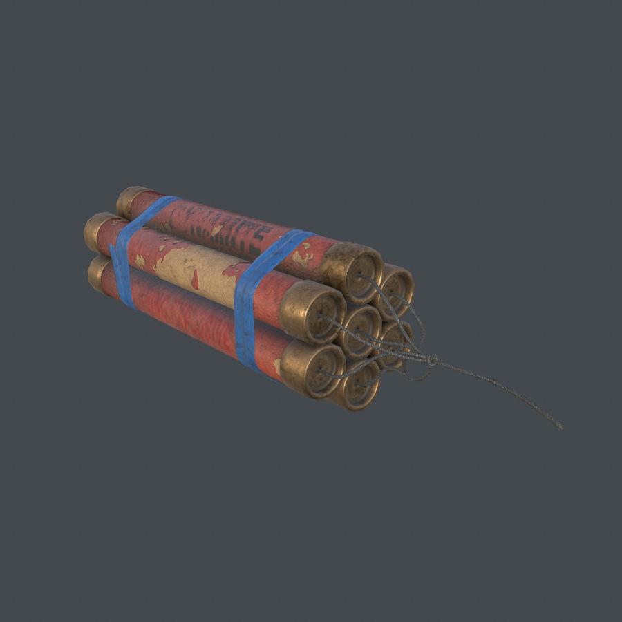 Dynamite Game ready royalty-free 3d model - Preview no. 9
