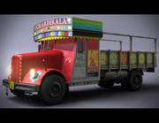 Indian Truck 3d model