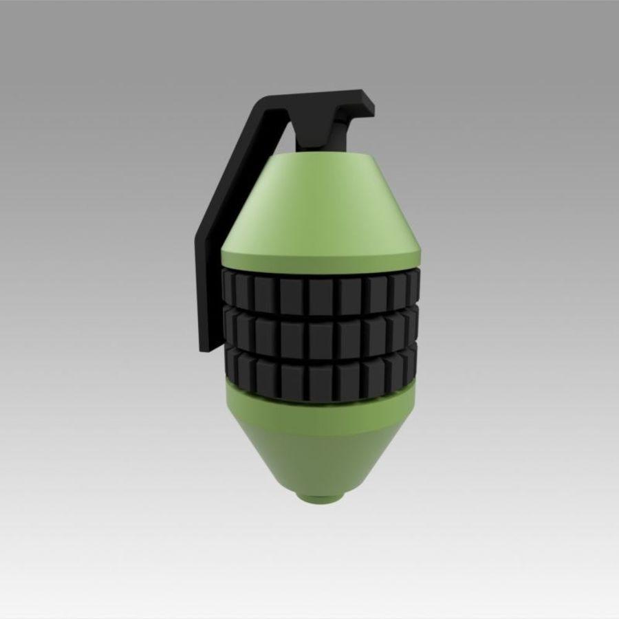 印刷可能なフォールアウト3手榴弾キット royalty-free 3d model - Preview no. 1