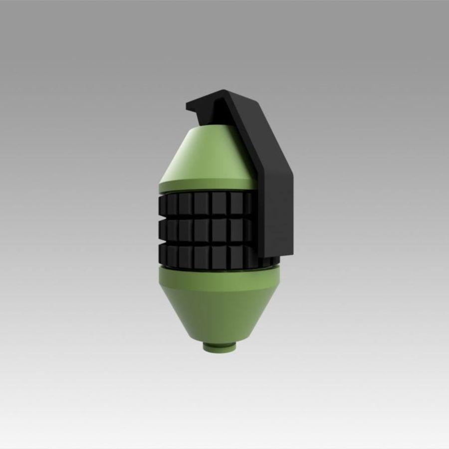印刷可能なフォールアウト3手榴弾キット royalty-free 3d model - Preview no. 6