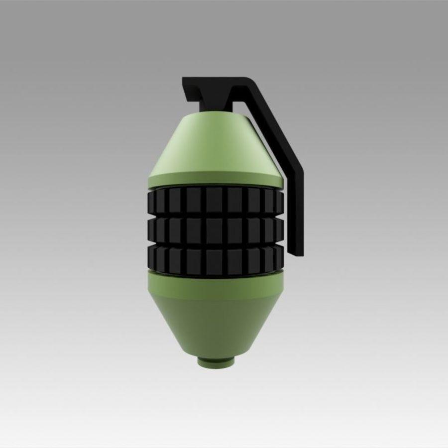 印刷可能なフォールアウト3手榴弾キット royalty-free 3d model - Preview no. 5