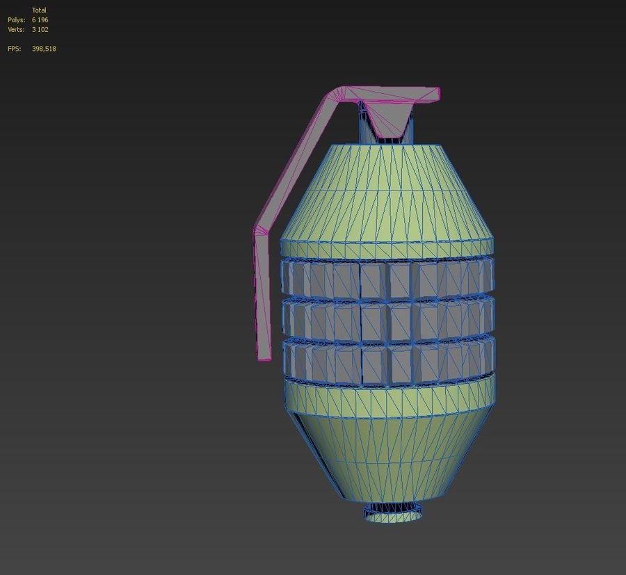 印刷可能なフォールアウト3手榴弾キット royalty-free 3d model - Preview no. 8