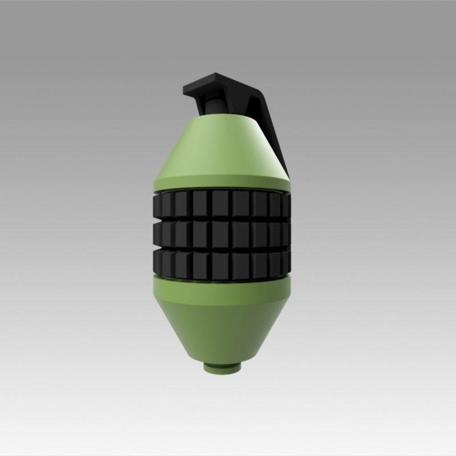 印刷可能なフォールアウト3手榴弾キット royalty-free 3d model - Preview no. 4