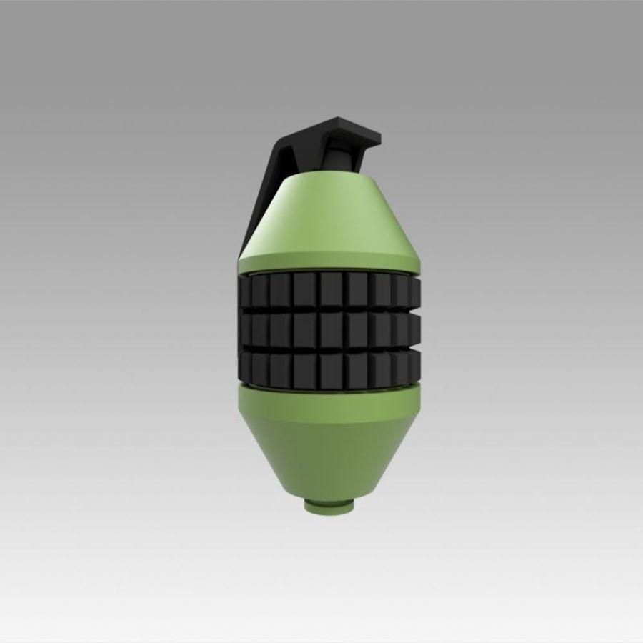 印刷可能なフォールアウト3手榴弾キット royalty-free 3d model - Preview no. 2