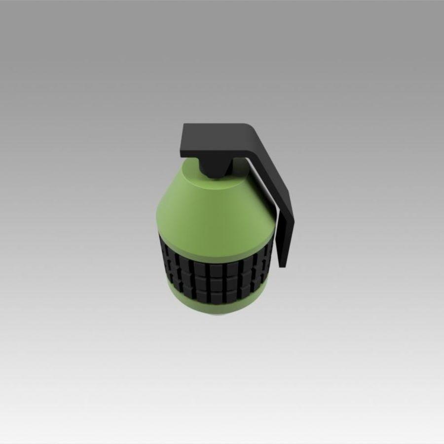 印刷可能なフォールアウト3手榴弾キット royalty-free 3d model - Preview no. 7