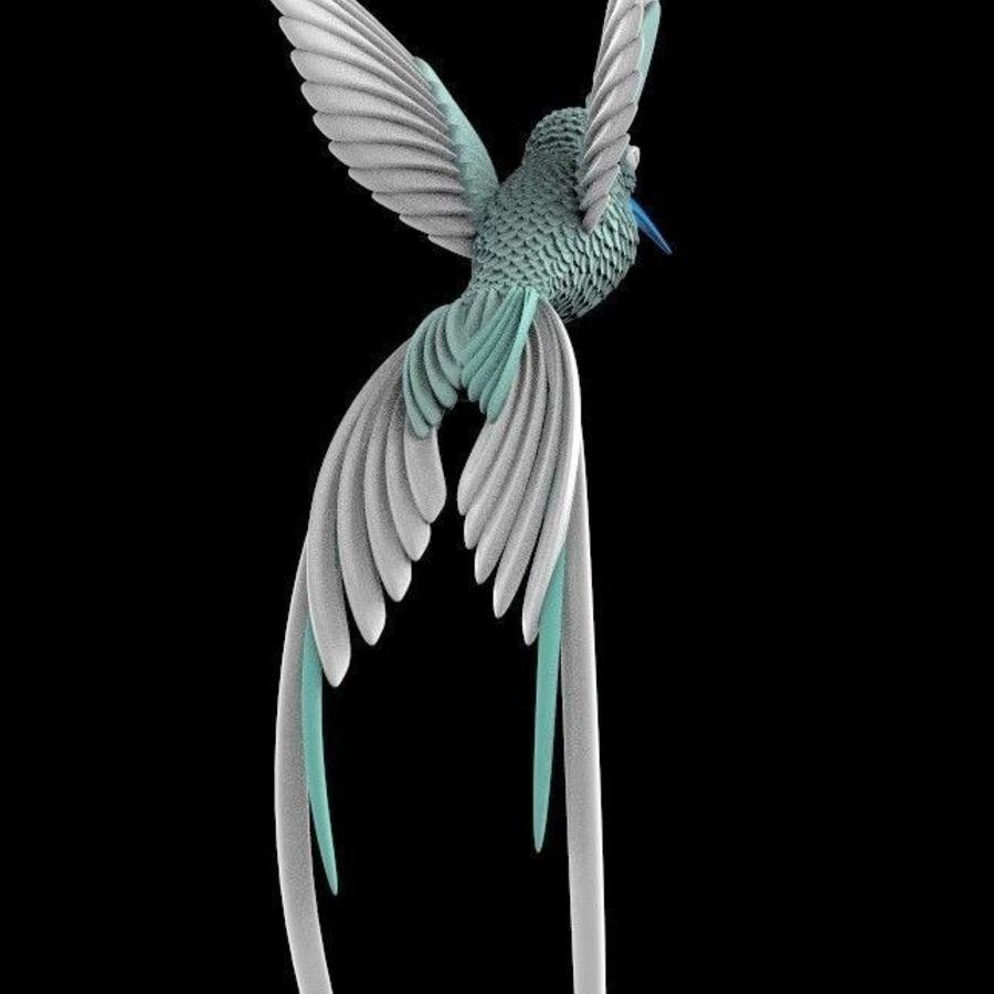 colibri royalty-free 3d model - Preview no. 10