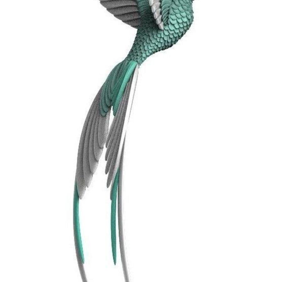 colibri royalty-free 3d model - Preview no. 8