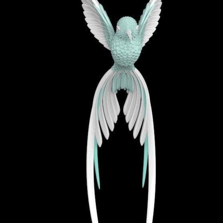colibri royalty-free 3d model - Preview no. 15