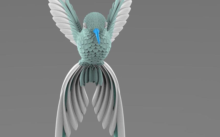 colibri royalty-free 3d model - Preview no. 9