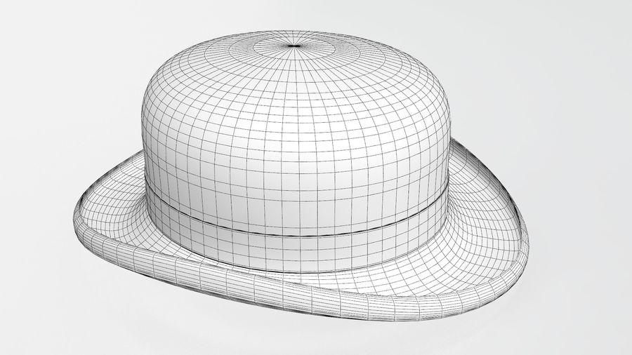 礼帽 royalty-free 3d model - Preview no. 13
