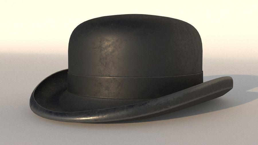 礼帽 royalty-free 3d model - Preview no. 2