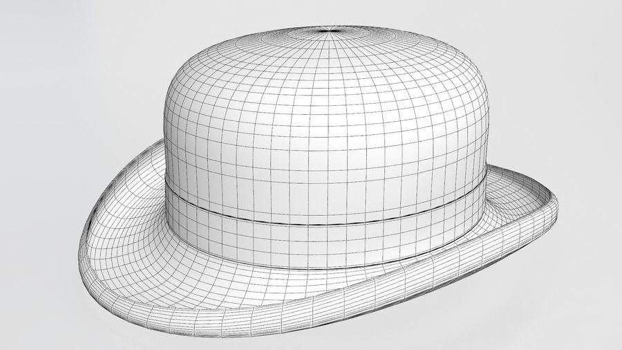 礼帽 royalty-free 3d model - Preview no. 12