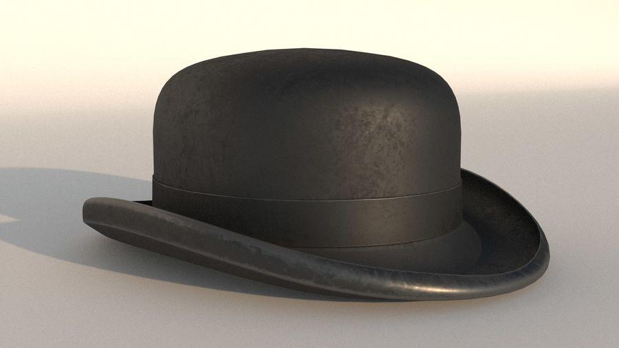 礼帽 royalty-free 3d model - Preview no. 7