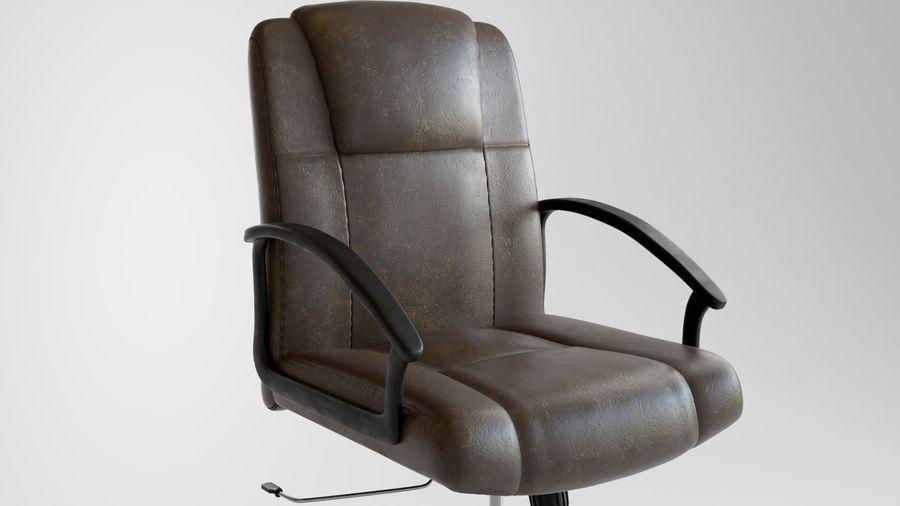 Krzesło Biurko royalty-free 3d model - Preview no. 4